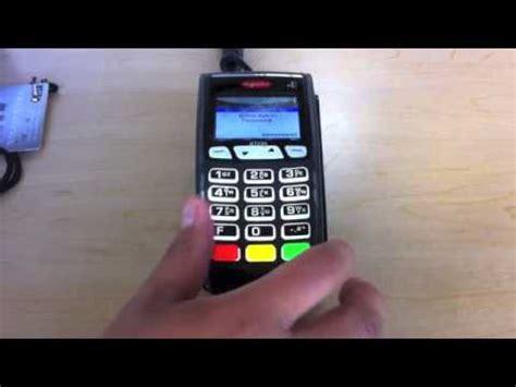 INGENICO ICT220 Payment Terminal User Manual Report